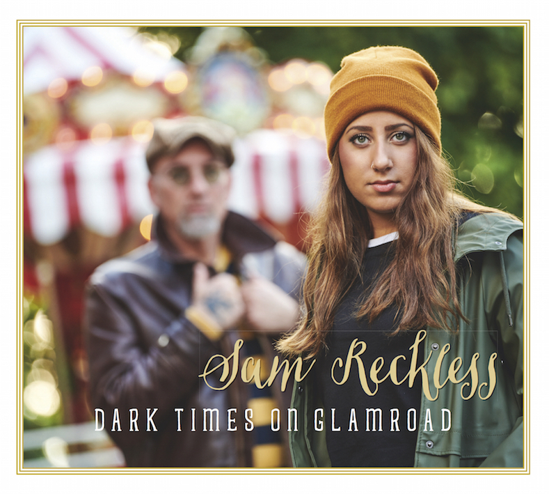 CD Cover Sam Reckless - Dark times on glamroad